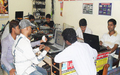chip level laptop repairing institute in india